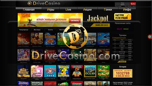 DriveCasino казино